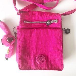 Kipling Daly crossbody purse Very Berry